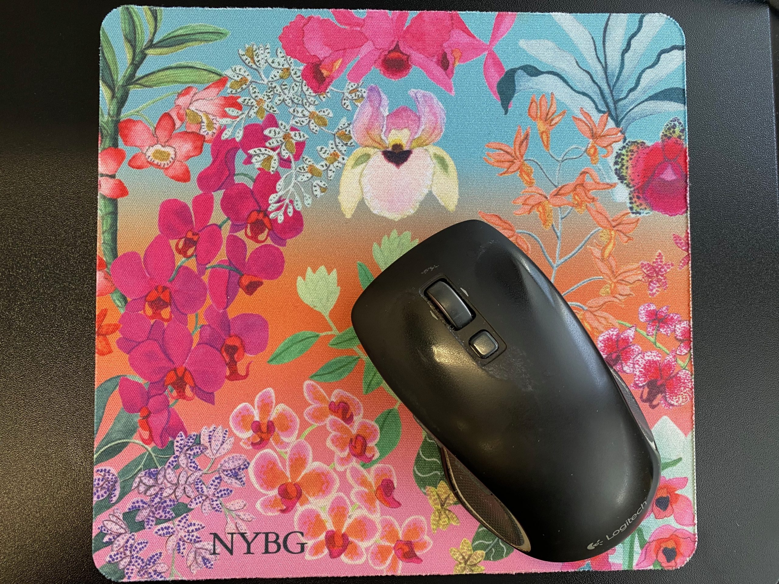 NYBG Orchid Show mouse pad