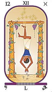 Arcanum XII. The Hanged Man (The Martyr)