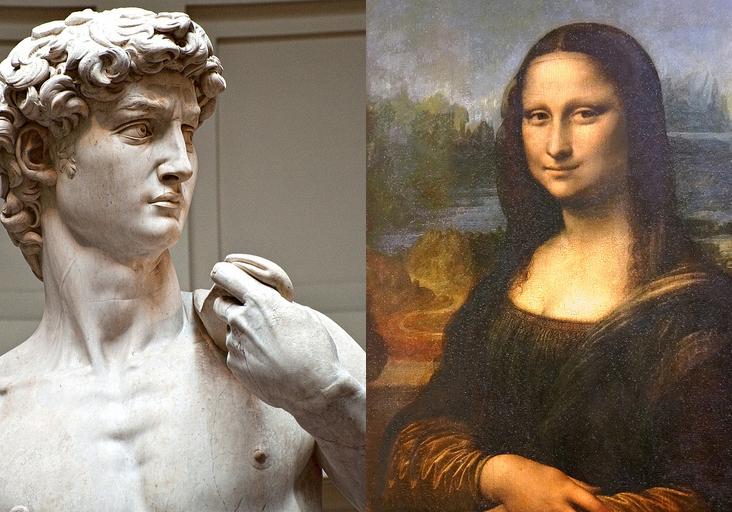 Michelangelo vs Leonardo