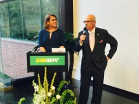 United Way President & CEO Gary Johnson and NBC Connecticut's Heidi Voight Co-Hosted the Event