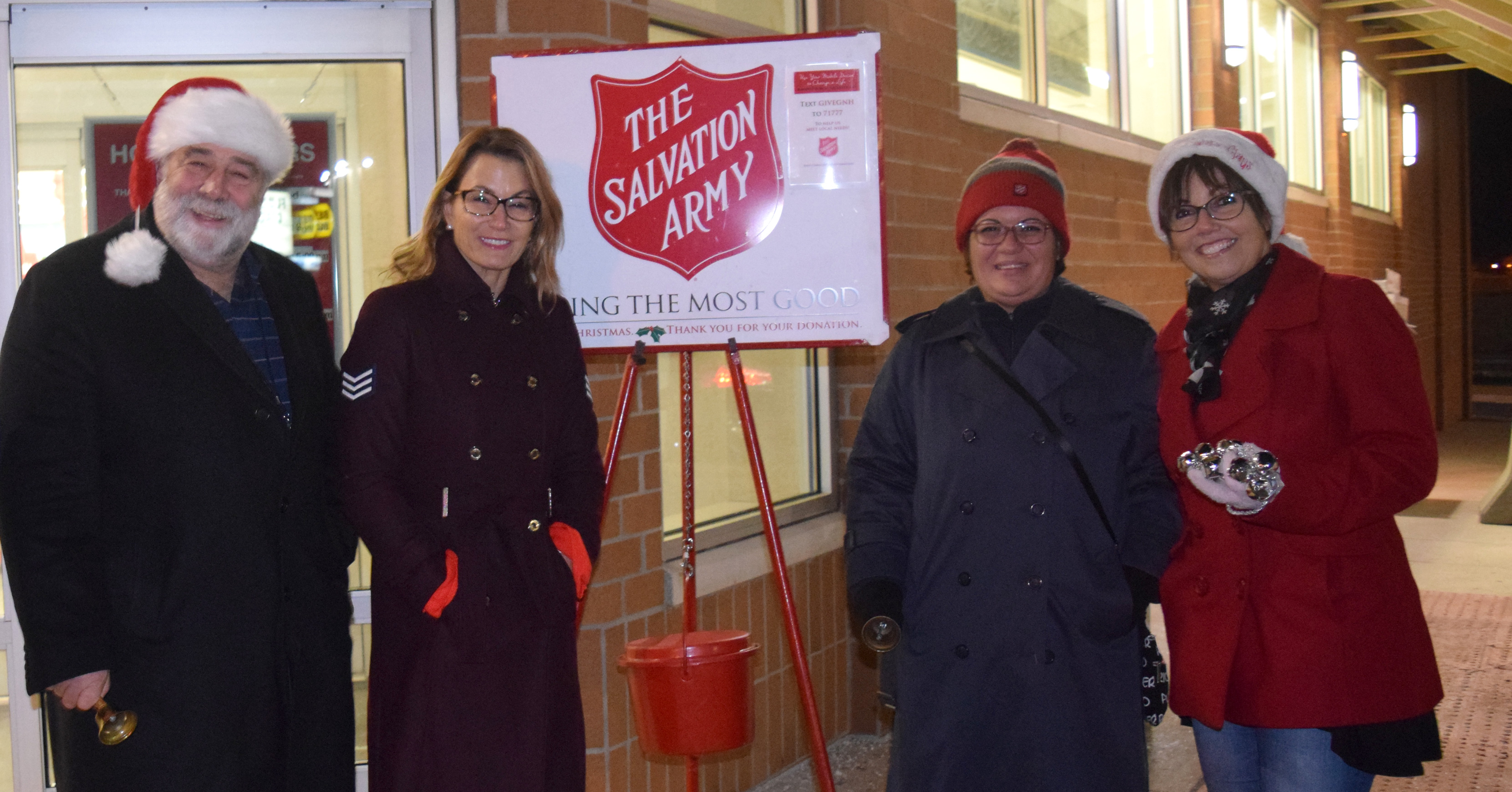 Salvation Army activating warming center