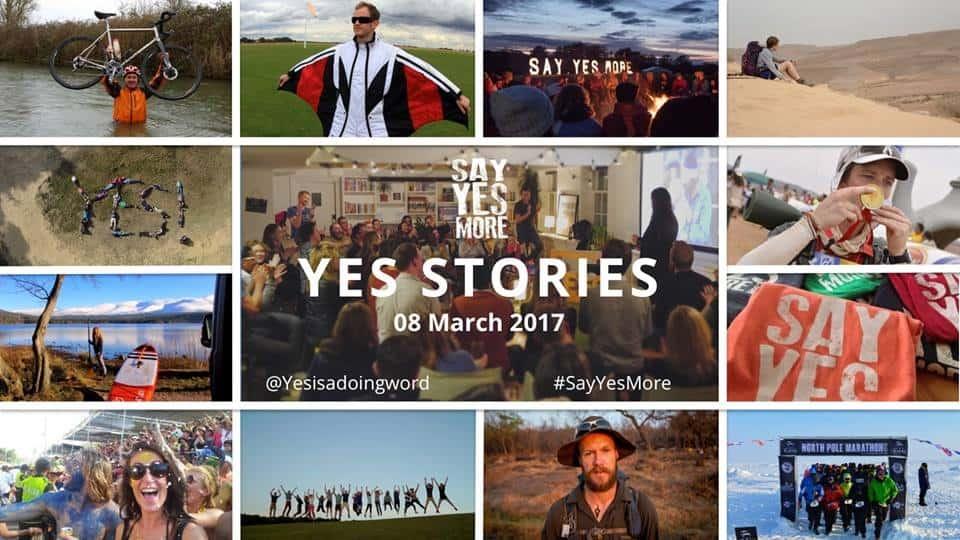 Yes Stories, public speaking