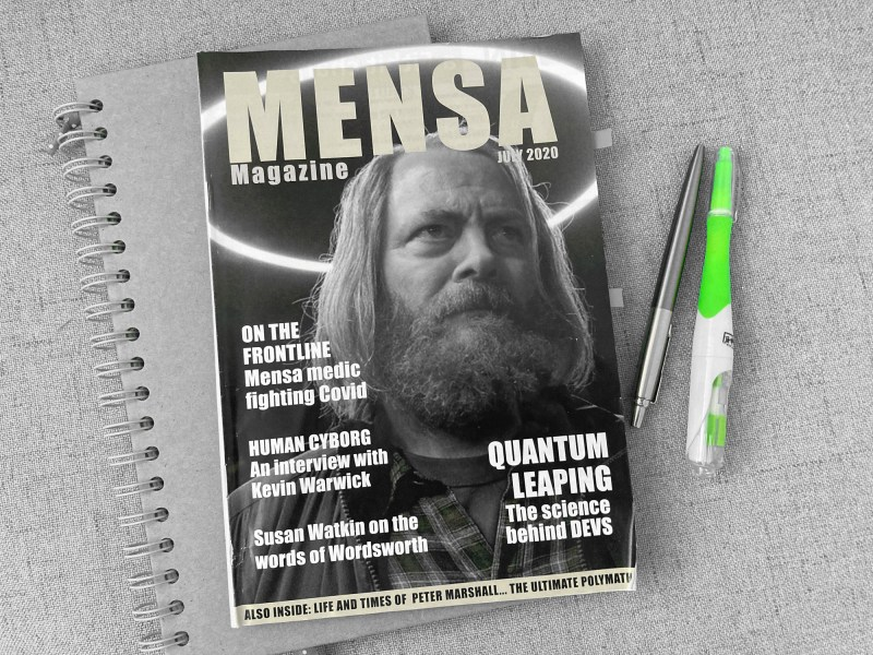 mensa magazine july 2020 high iq intelligence anxiety disorder psychology minimalism-1