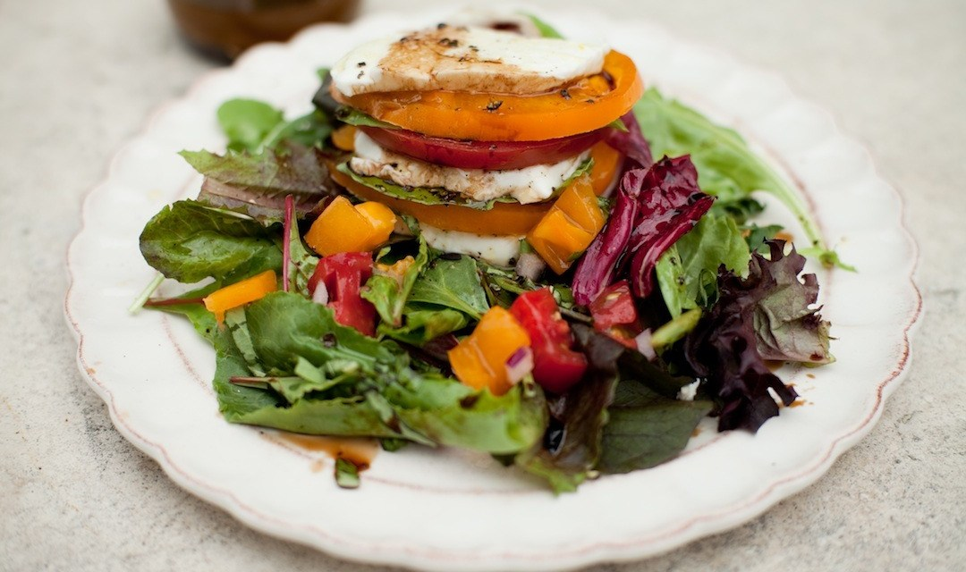 The Caprese Stack Salad