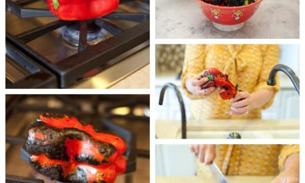 How to Roast a Red Bell Pepper!