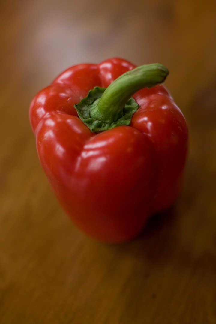 How to Roast a Red Bell Pepper