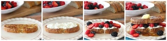Hearty French Toast with Berries