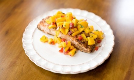 Tropical Salmon ~ A Family Favorite!