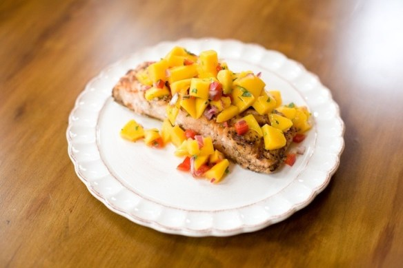 Tropical Salmon from The Organic Kitchen