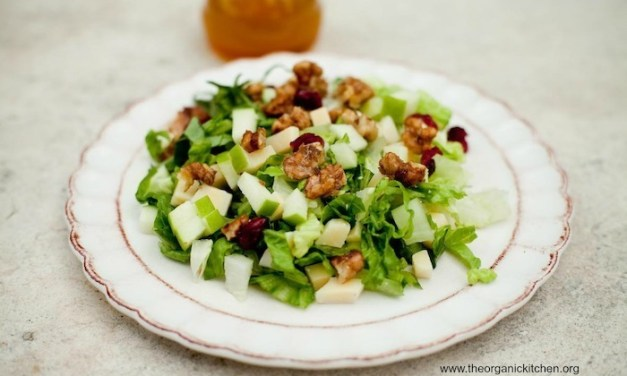 The Organic Kitchen Chopped Salad with Apple Vinaigrette