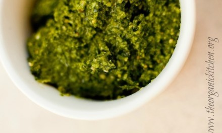 How to Make Fresh Basil Pesto!