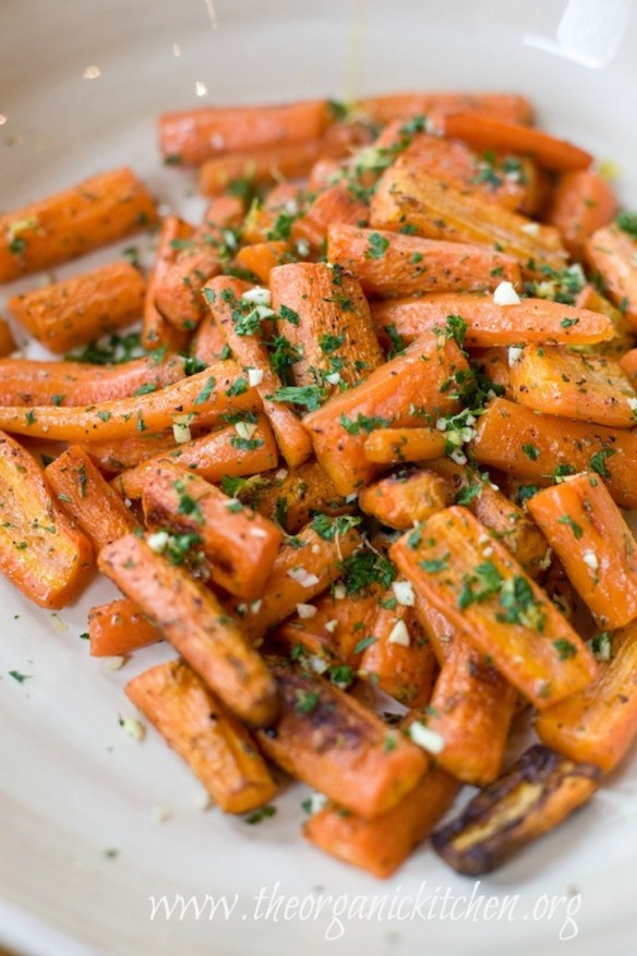 Carrots with Gremolata from The Organic Kitchen