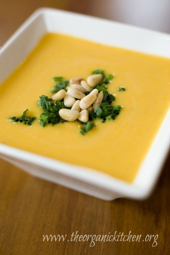 Creamy Butternut Squash Soup with a Paleo/Whole 30 option