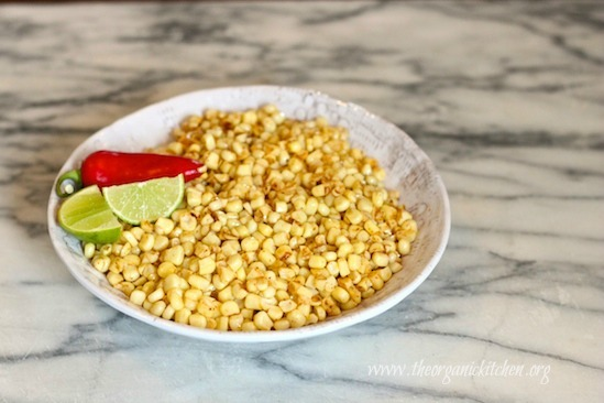 Chipotle Lime Corn Off the Cob