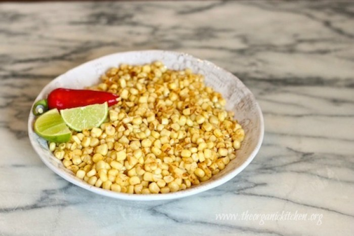 Chipotle Lime Corn Off the Cob
