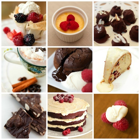 Woo the One You Love ~ Nine Valentine's Day Desserts