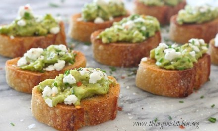 Avocado and Goat Cheese Toastettes!