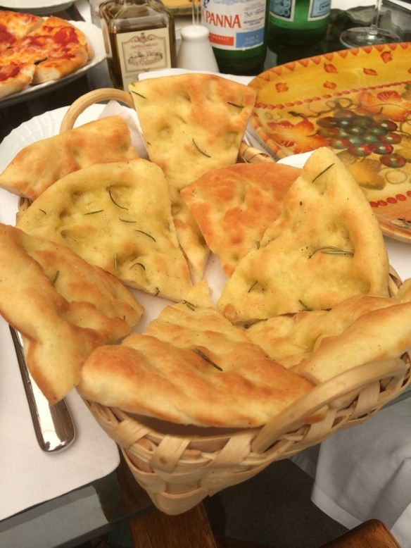Focaccia Bread from The Organic Kitchen