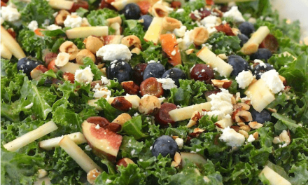 Kale Salad with Citrus Vinaigrette