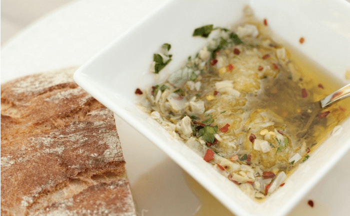 Parmesan Artichoke Heart Dipping Oil
