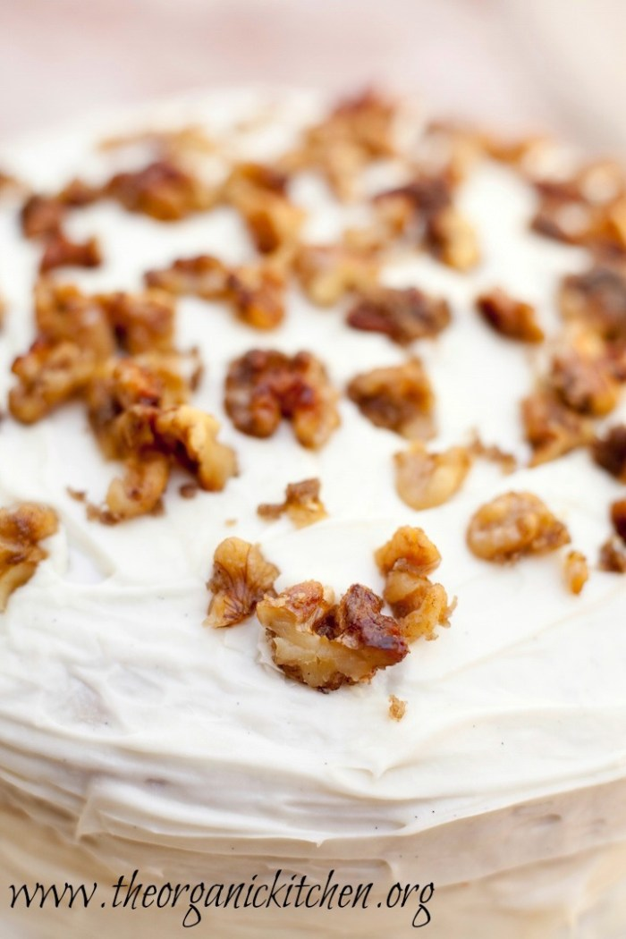 Hummingbird Cake from The Organic Kitchen