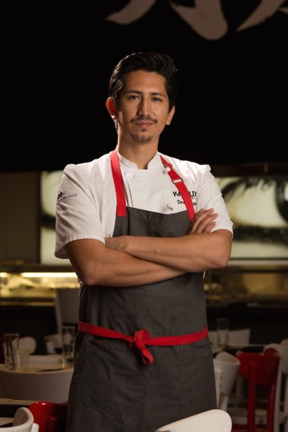 Chef David Lespron, Katsuya Hollywood