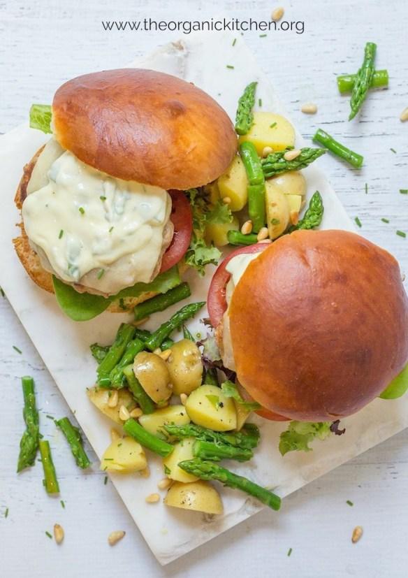 Simple Potato and Asparagus Salad #potatosalad #springpotatosalad #whole30 #paleo #whole30potatosalad