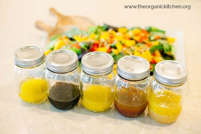 My Five Favorite Summer Salad Dressings #homemadesaladdressing #saladdressing #paleosaladdressing