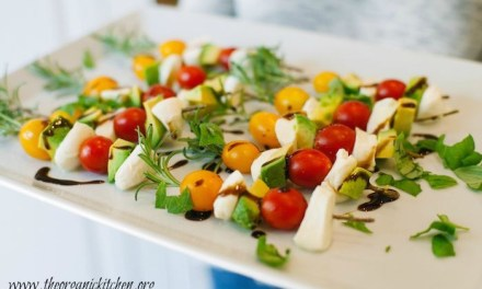 California Caprese Skewers