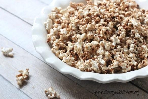 Maple Pumpkin Spiced Popcorn