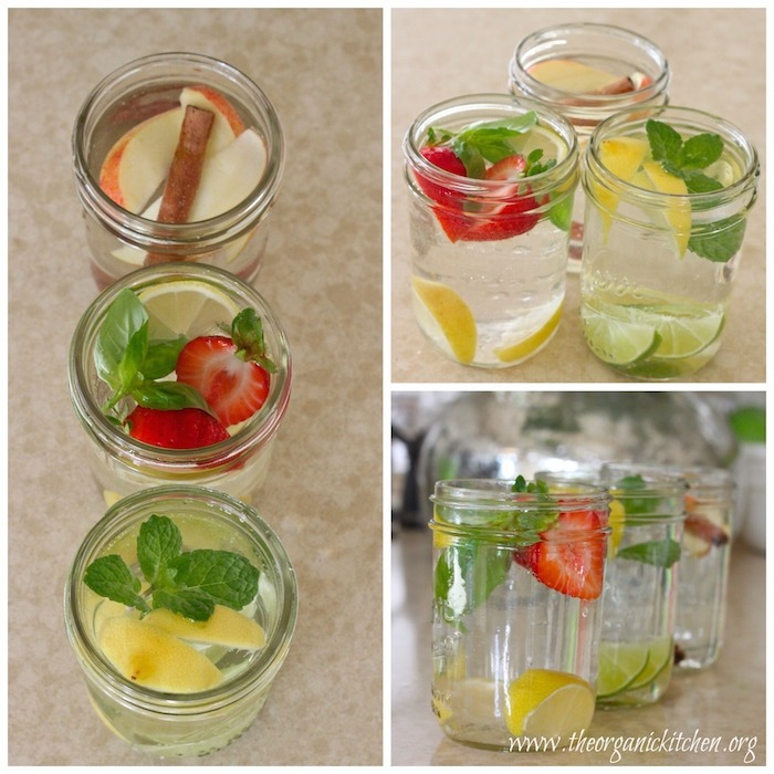 Fruit infused water recipes!