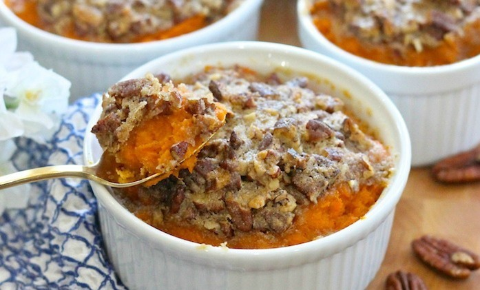 Maple Sweet Potato Casserole