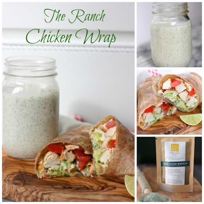 Ranch Chicken Wrap: A quick and easy lunch!