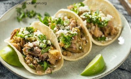 Pulled Pork Tacos with Cilantro Lime Rice (Crock Pot or Instant Pot!)