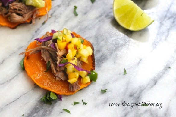 Don't give up on taco Tuesday just because you're eating Whole 30 or Paleo. You're going to love these Whole 30 Pulled Pork Taco Bites!