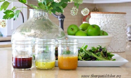 My Favorite Fall/Winter Salad Dressings