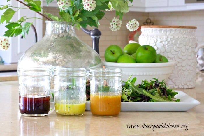 My Favorite Fall/Winter Salad Dressings
