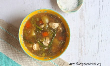 Chicken and Asparagus Soup