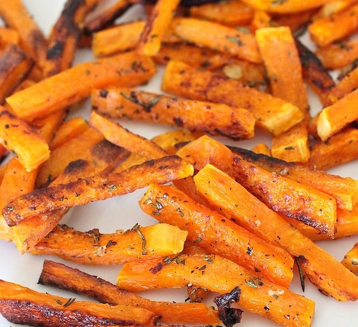 "Rosemary Butternut Squash ""Fries"""