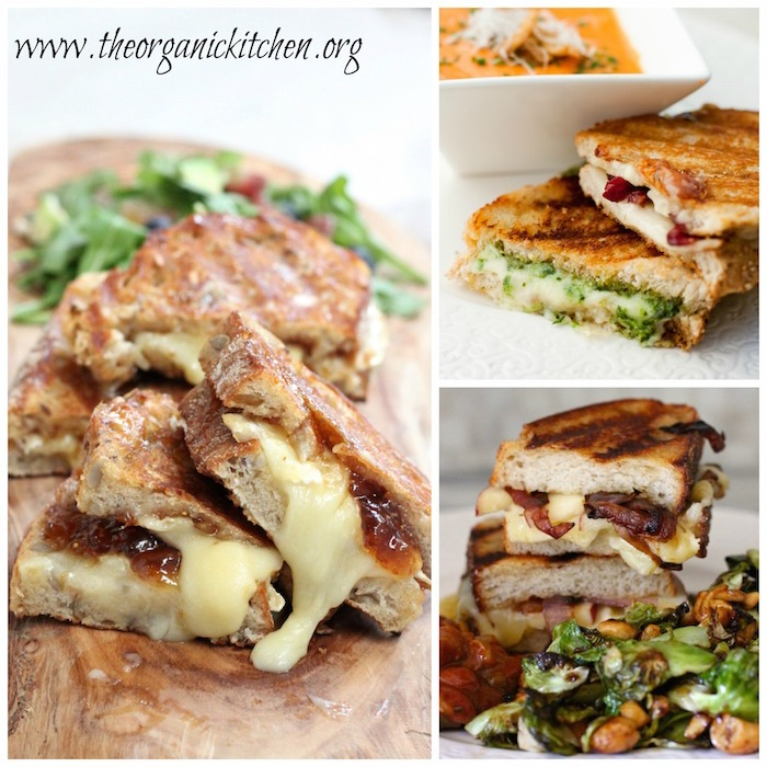 Happy National Grilled Cheese Sandwich Day! A collection of gourmet grilled cheese!