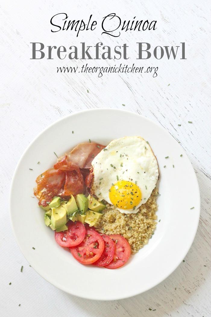 Simple Quinoa Breakfast Bowl