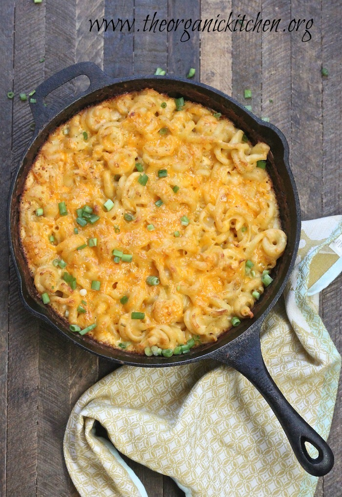 Old Fashioned Skillet Macaroni and Cheese!