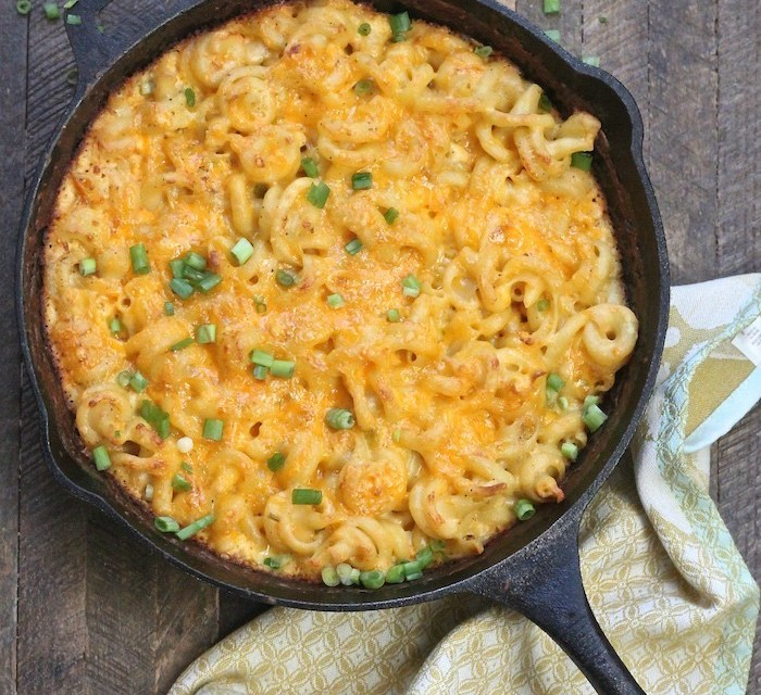 Old Fashioned Skillet Macaroni and Cheese