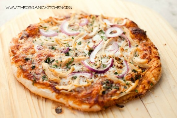 Homemade BBQ Chicken Pizza!