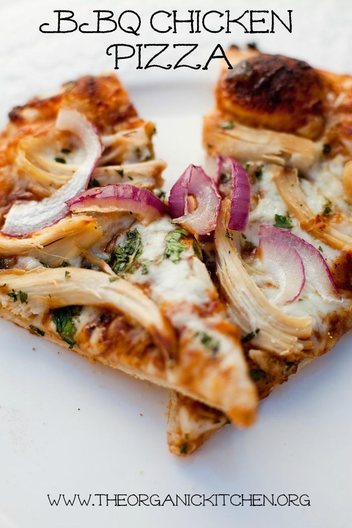 Homemade BBQ Chicken Pizza!