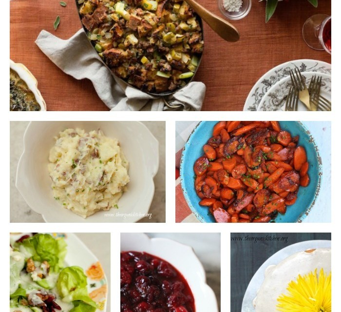 Holiday Side Dishes: Everything But the Turkey~Part 4