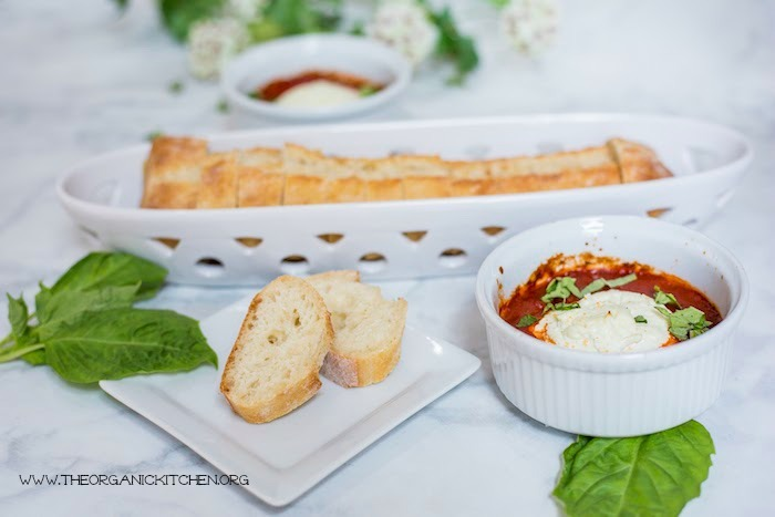 Goat Cheese and Marinara Appetizer