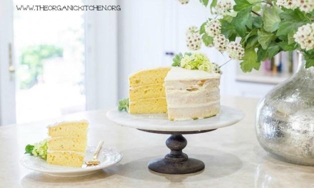 Buttermilk Cake with Vanilla Bean Cream Cheese Frosting