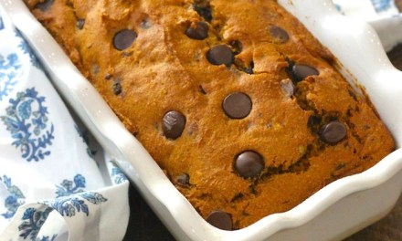 Chocolate Chip Pumpkin Pecan Bread (Gluten free option)