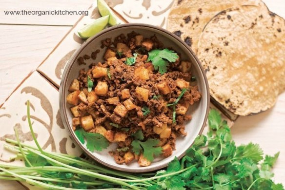 Instant Pot Chorizo with Potatoes! #glutenfree #chorizo #tacosdepapas #instantpot #potatoes
